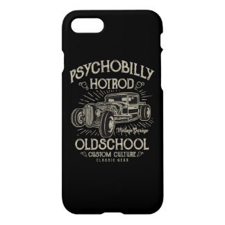 PsychoBilly HotRod Glossy Phone Case