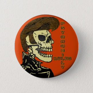 Psychobilly Rules 2 Inch Round Button