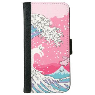 Psychodelic Bubblegum Kunagawa iPhone 6 Wallet Case