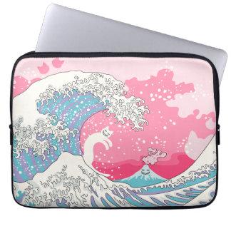 Psychodelic Bubblegum Kunagawa Laptop Sleeve