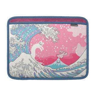 Psychodelic Bubblegum Kunagawa Sleeve For MacBook Air