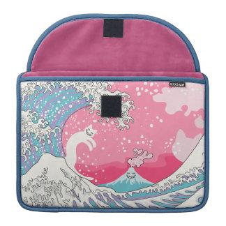 Psychodelic Bubblegum Kunagawa Sleeve For MacBook Pro