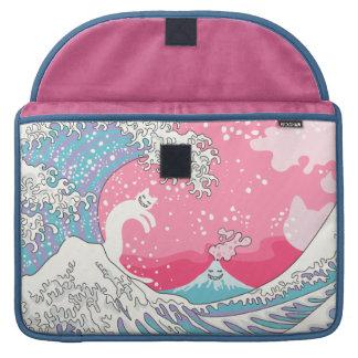 Psychodelic Bubblegum Kunagawa Sleeve For MacBooks