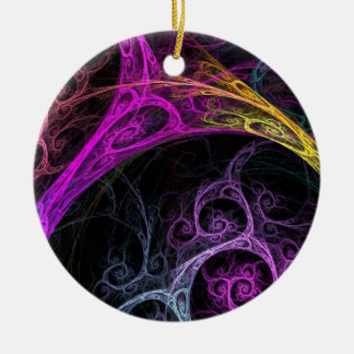Psychodelic Ceramic Ornament