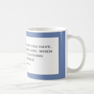 Psychological Qoutes Coffee Mug