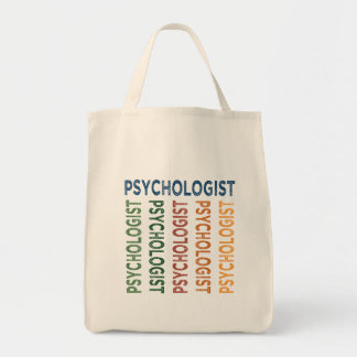 Psychologist Cute Colorful Tote Bag