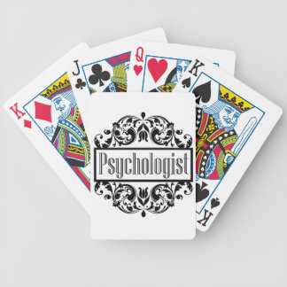 Psychologist Damask Bicycle Playing Cards