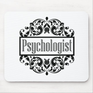 Psychologist Damask Mouse Pad