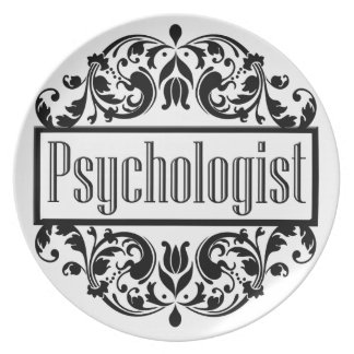 Psychologist Damask Plate