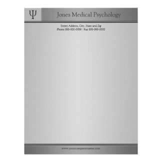 Psychologist Letterhead