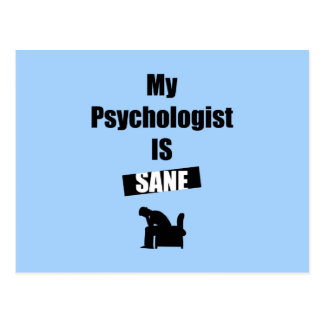 Psychologist Postcard