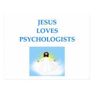 PSYCHOLOGISTS POSTCARD