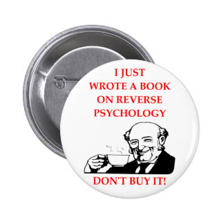 PSYCHOLOGY 2 INCH ROUND BUTTON