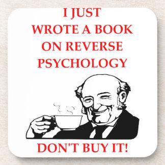PSYCHOLOGY BEVERAGE COASTER