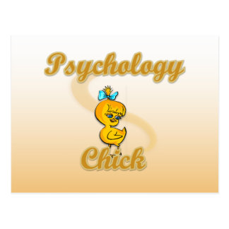 Psychology Chick Postcard