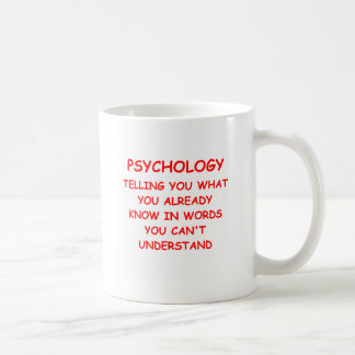 psychology coffee mug