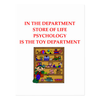 PSYCHOLOGY gifts t-shirts Postcard