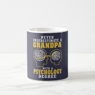 Psychology Grandpa Coffee Mug