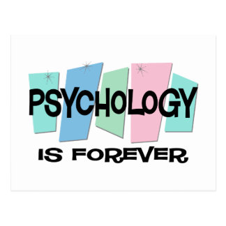 Psychology Is Forever Postcard