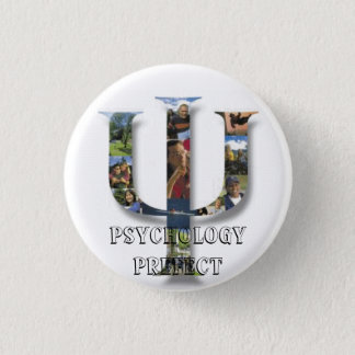 Psychology Prefect 1 Inch Round Button