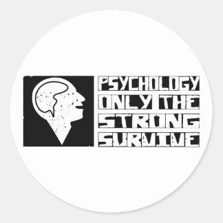 Psychology Survive Classic Round Sticker