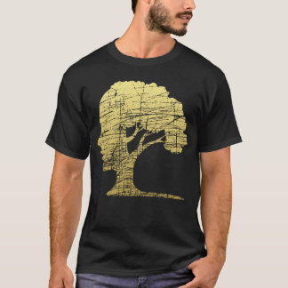 Psychology Tree Unique Symbol Environmental Philos T-Shirt