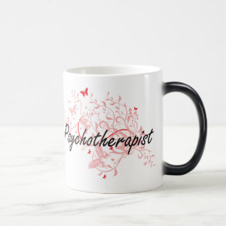 Psychotherapist Artistic Job Design with Butterfli Magic Mug
