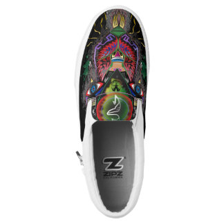 Psychotic Creation Slip-On Sneakers