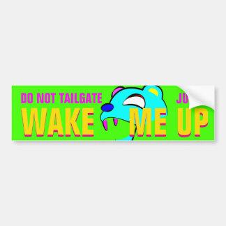 psycobear bumper sticker