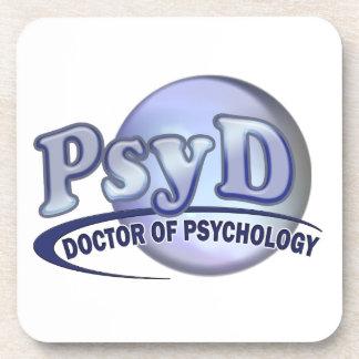 PsyD Doctor of Psychology LOGO Coaster