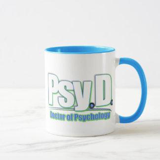 PsyD LOGO2 DOCTOR OF PSYCHOLOGY Mug