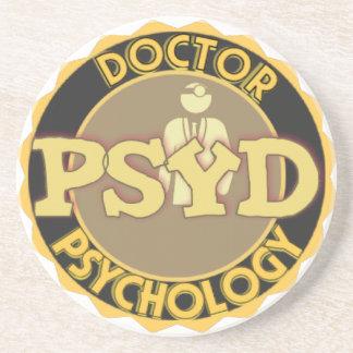 PsyD LOGO DOCTOR OF PSYCHOLOGY PSYCHOLOGIST Coaster