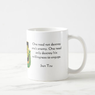 Psyop Regimental, One need not destroy one's en... Coffee Mug