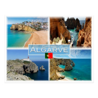 PT Portugal - Algarve - Postcard