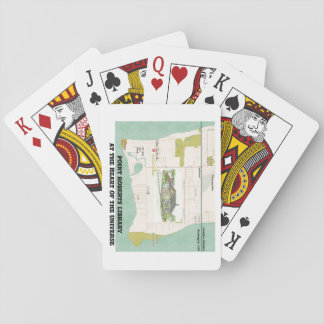 Pt Roberts Library playing cards