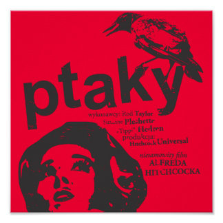 ptaky red poster