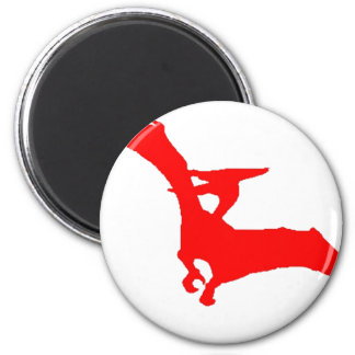 Pteam Pterodactyl Athletics Apparel Magnet