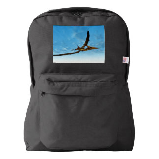 Pteranodon bird flying - 3D render Backpack