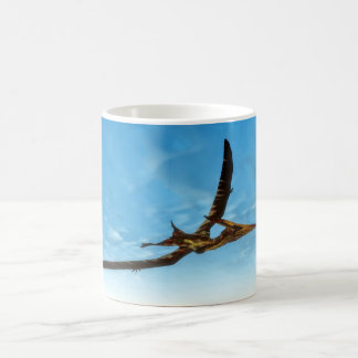 Pteranodon bird flying - 3D render Coffee Mug