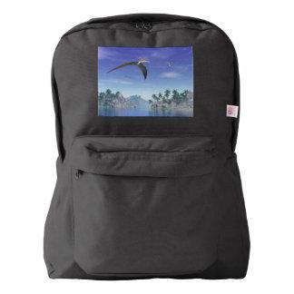 Pteranodon birds  - 3D render Backpack