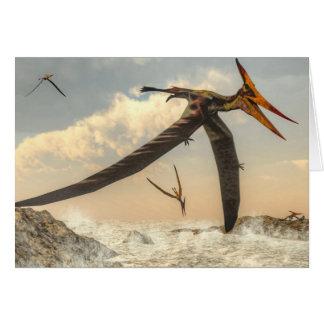 Pteranodon birds - 3D render Card