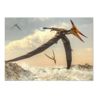 Pteranodon birds - 3D render Card
