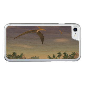Pteranodon birds  - 3D render Carved iPhone 8/7 Case