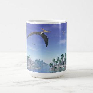 Pteranodon birds  - 3D render Coffee Mug