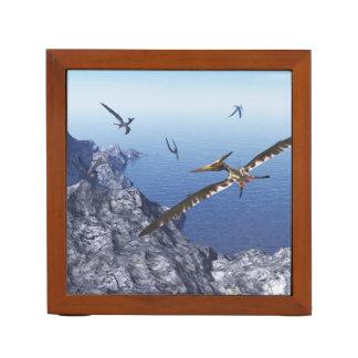 Pteranodon birds - 3D render Desk Organizer