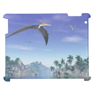 Pteranodon birds  - 3D render iPad Cover