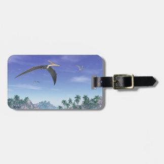 Pteranodon birds  - 3D render Luggage Tag