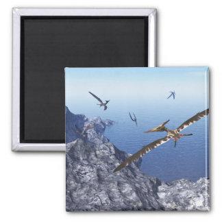 Pteranodon birds - 3D render Magnet