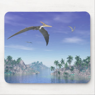 Pteranodon birds  - 3D render Mouse Pad