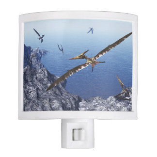 Pteranodon birds - 3D render Nite Lights